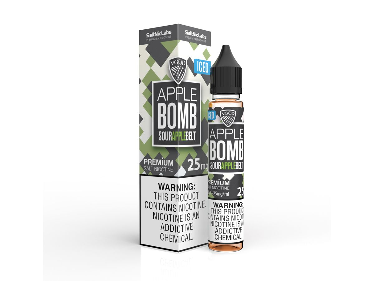 VGOD Iced Apple Bomb SaltNic